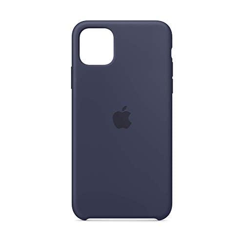 Apple Custodia in Silicone (per iPhone 11 Pro Max) - Blu Notte - 6.46 pollici