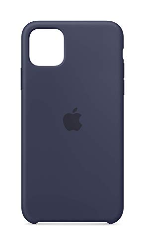 Apple Silicone Case (for iPhone 11 Pro Max) - Midnight Blue