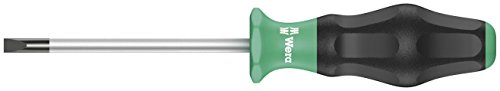 Wera 05031402001 1335 Screwdriver for Slotted Screws, 0.5 mm x 3.0 mm x 80 mm