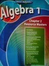Algebra 1, Chapter 2 Resource Masters (Glencoe Mathematics)