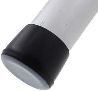 16 Piezas - Conteras Virolas de Goma 19mm con Deslizadores Integrales de Teflón PTFE - Para las Patas de Mesas, Sillas y M...