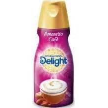 INTERNATIONAL DELIGHT COFFEE CREAMER AMARETTO CAFE 32 OZ PACK OF 2