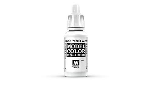 Vallejo Acrylic Model Color - White Grey - VAL993