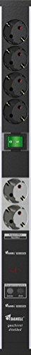 Geschirmte PC-Steckdosenleiste D6744, 6-fach