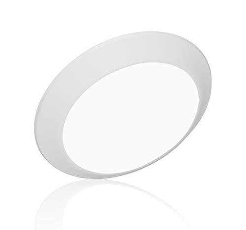 NICOR Lighting DSK Select Series 5/6-inch Surface Mount LED Downlight (DSK563120SWH), White