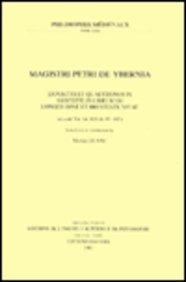 Magistri Petri de Ybernia. Expositio Et Quaestiones in Aristotelis Librum de Longitudine Et Brevitate Vitae (Ex. Cod. Vat. Lat. 825, Ff. 92r-102r): 30