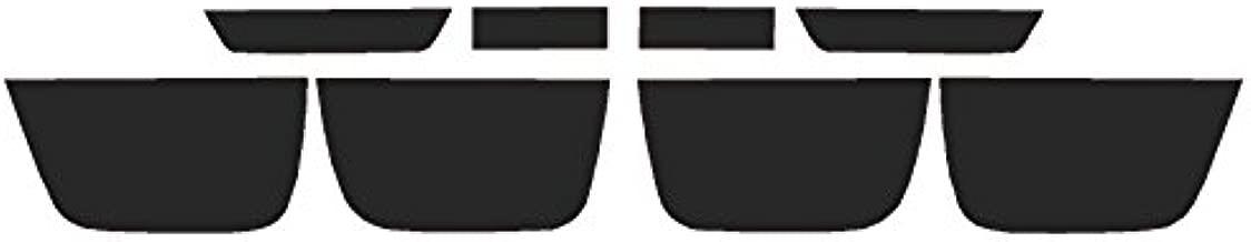 Precut Vinyl Tint Cover for 2010-2013 Chevrolet Camaro Taillights (20% Dark Smoke)