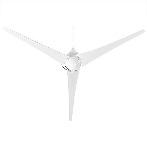 DC 12V 500W Windgenerator 3 Blätter Windkraftgenerator, langlebiger Windturbinengeneratorgenerator und geräuscharme Gleichstromversorgung mit Controller