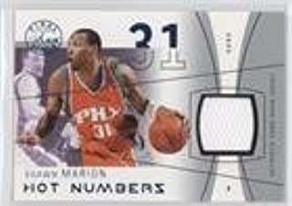 Shawn Marion #205/250 (Basketball Card) 2003-04 Flair Final Edition - Hot Numbers Jerseys - Blue #HN-SHM
