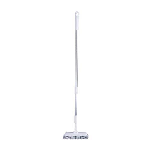 N-B Cepillo de Limpieza para Pisos de baños Cepillo retráctil para Limpieza de Pisos de Esquinas de Pared