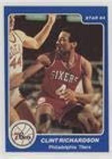 Clint Richardson (Basketball Card) 1984-85 Star - Arena Set #8