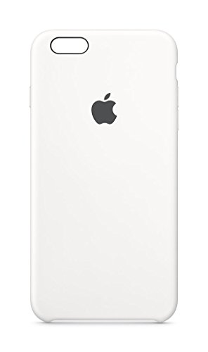 Apple Silicone Case (for iPhone 6s Plus) - White