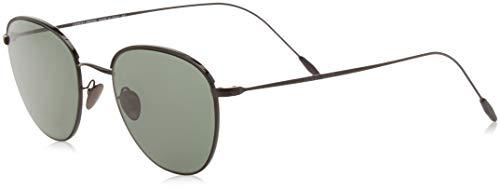 Armani 0AR6048 300171 51 Gafas de sol, Negro (Matte Black/Black/Greygreen), Hombre