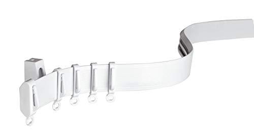 Gardinia Vorhangschiene Flexline weiß 350 cm