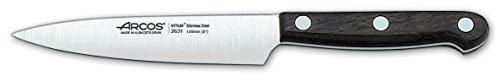 Arcos Palisandro - Cuchillo de cocinero, 120 mm (fundahoja)