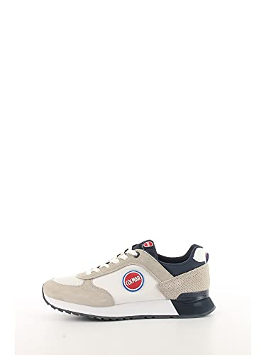 Colmar Travis Colors Sneaker Running Uomo White Navy TRAVISCOLORS001 42