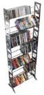 Boltz dvd252-contenitore para DVD, DE Acero, Acabado Plata, DVD-252Extensible (Senso Horizontal al Infinito.