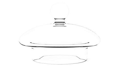BMTyne UK Ersatz-Deckel für Teekanne aus Glas – runder Deckel (7,6 cm x 5,7 cm)