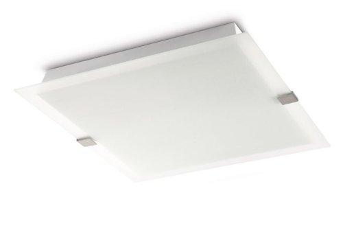 Philips 302911716 Plafondlamp, nikkel, 3 x 36 W