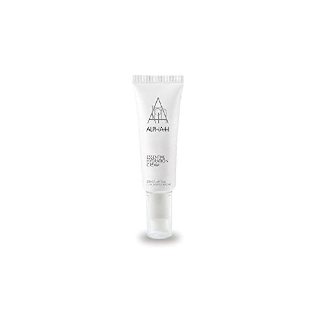 日食インディカ確かめるアルファ必須水和クリーム(50)中 x4 - Alpha-H Essential Hydration Cream (50ml) (Pack of 4) [並行輸入品]