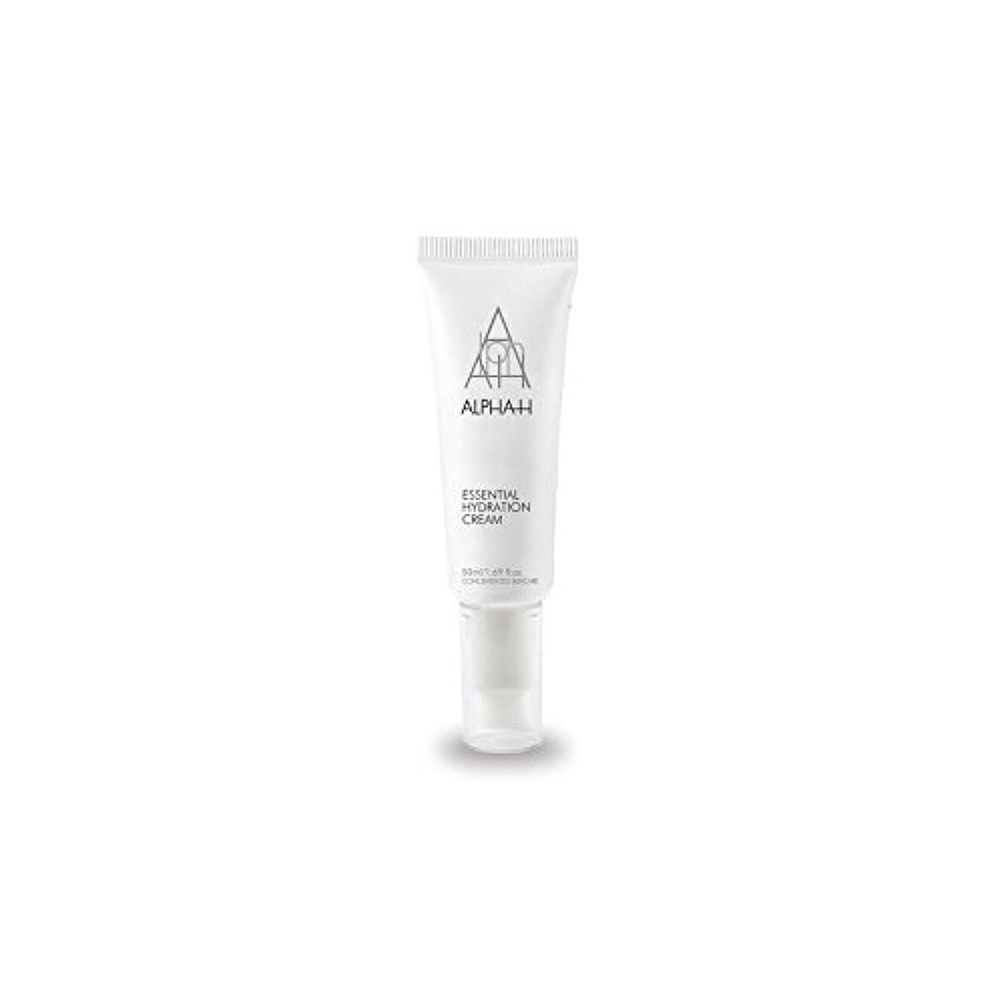 ぼかす船上覚えているAlpha-H Essential Hydration Cream (50ml) - アルファ必須水和クリーム(50)中 [並行輸入品]