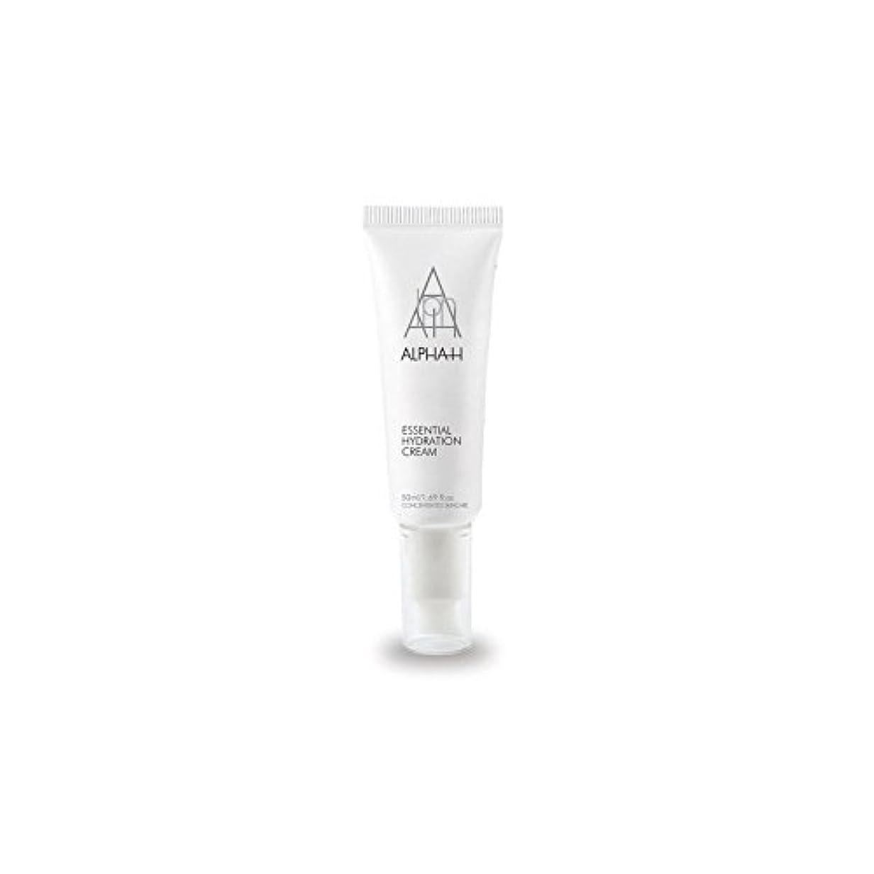 微視的剥離要旨アルファ必須水和クリーム(50)中 x4 - Alpha-H Essential Hydration Cream (50ml) (Pack of 4) [並行輸入品]