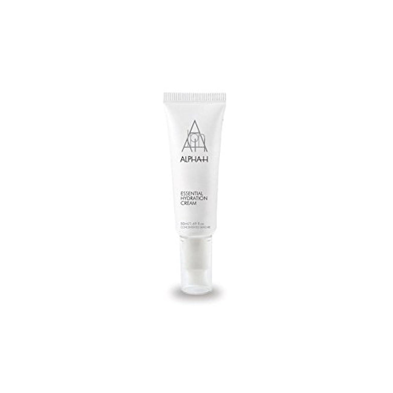 石膏子孫追加Alpha-H Essential Hydration Cream (50ml) - アルファ必須水和クリーム(50)中 [並行輸入品]