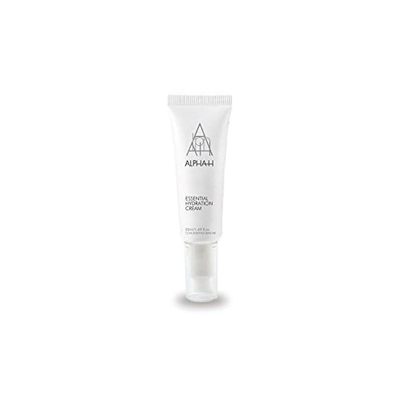 相対的航空便排泄するアルファ必須水和クリーム(50)中 x4 - Alpha-H Essential Hydration Cream (50ml) (Pack of 4) [並行輸入品]