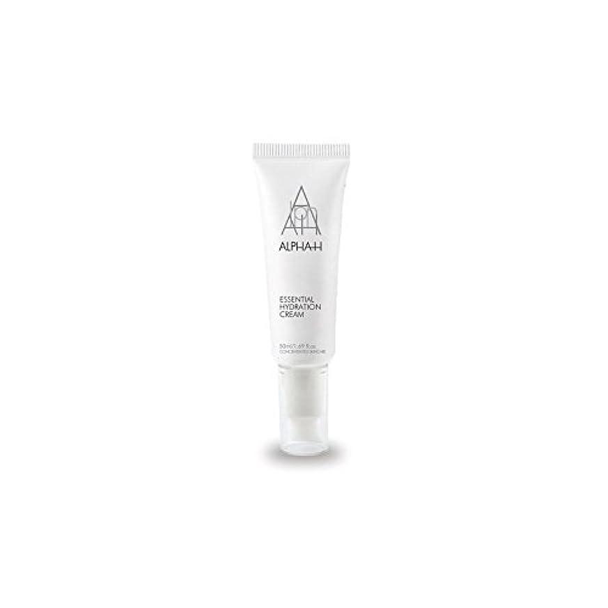 冷ややかな賃金変形するアルファ必須水和クリーム(50)中 x2 - Alpha-H Essential Hydration Cream (50ml) (Pack of 2) [並行輸入品]