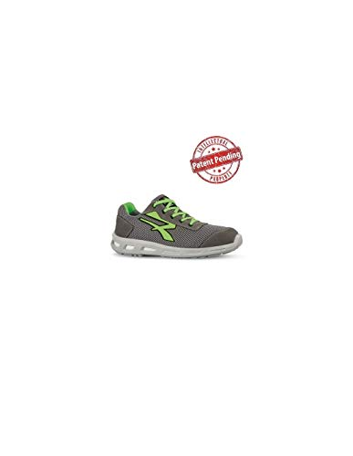 U-POWER Summer S1p SRC, Zapatos de Seguridad Unisex Adulto, Verde (Vert 000), 44 EU
