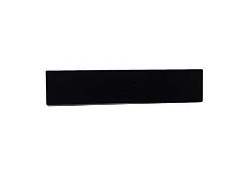 Police Fire EMS Flat Black Mourning Pins for Embroidered or Patch Uniform Badges (5 Pack, 76mm /3 inch)