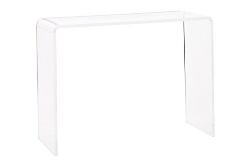 Pure Dcor Pure Decor Acrylic Console Table, 29hx38wx15, Clear