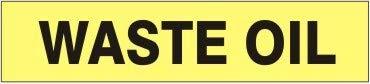 Waste Oil – Pipe Marker - Topics on TV Units 11 Vinyl- Adhesive Nippon regular agency