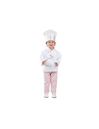 DISBACANAL Disfraz cocinera niña - -, 4 años