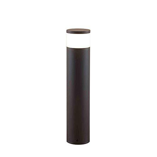 Lucande Sockelleuchte/Wegeleuchte mit 2 integrierten Steckdosen | Gartenlampe 47,8 cm | spritzwassergeschützt IP44 | 1x G9 max. 5W, ohne Leuchtmittel