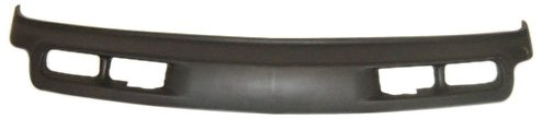 OE Replacement Chevrolet Front Bumper Deflector (Partslink Number GM1092167), Gray Textured