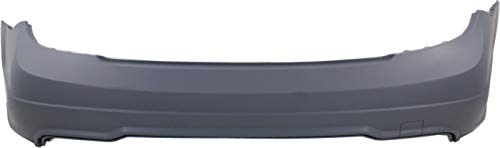 Rear Bumper Cover Compatible with MERCEDES BENZ C-CLASS 2012-2015 Primed with Sport Package Coupe/(2012-2014 Sedan)