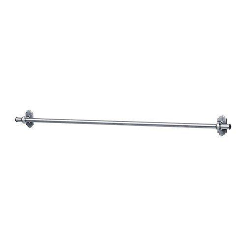 IKEA FINTORP Stange vernickelt; (79cm); für Küchenutensilien