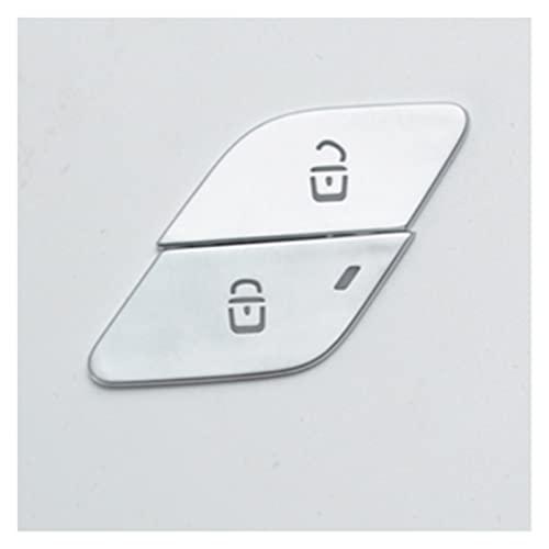 Interruptor De Desbloqueo De Puerta Botones Decoración De Lentejuelas para M-ercedes para B-ENZ GLS GLB X247 GLE W167 A B Clase W177 W247 Molduras Interiores
