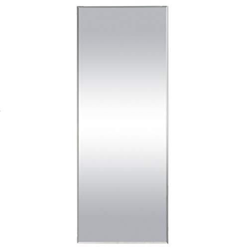 Aica Sanitär Faccettenspiegel N2 Serie, 120×45 cm, 5 mm stark, Garderobenspiegel Wandspiegel Badspiegel Kristallspiegel