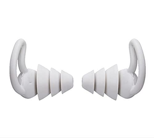 Reducción de ruido suave Tapones para los oídos para dormir Aislamiento acústico Protección para los oídos Tapones para los oídos Tapones antirruido para viajes