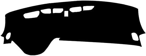 YOUYOUNX Auto innerlijke dashboardafdekking dashboardmat zonneschermpad, geschikt voor B-uick Encore 2020 LHD RHD-LHD zwart