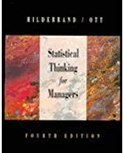 Statistical Thinking for Managers - Textbook Only by David K. Hildebrand (1998-05-03)