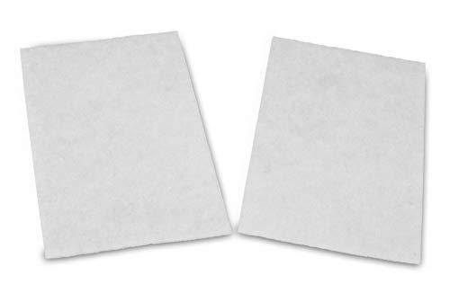 2 Premium Universal Motorschutzfilter   passend für alle Staubsauger   zum Zuschneiden   Größe: 22 x 14,5cm   Motorfilter   hochwertiges Aktivfiltersystem   Aktivkohlefilter  Premium Qualität