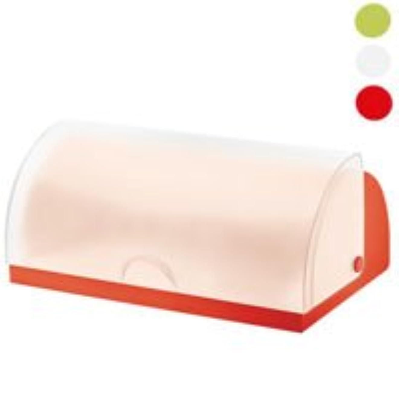 グラムではごきげんようフラフープguzzini(グッチーニ) キッチンストッカー レッド サイズ:41x24.5xH17.5cm ブレッドビン FORME CASA 07155331