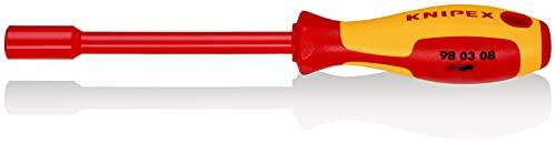 KNIPEX 98 03 08 Steckschlüssel mit Schraubendreher-Griff 237 mm