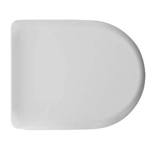 Abattant WC thermodurcissable D061 double charnière universelle 43,2 x 35,8 cm Blanc