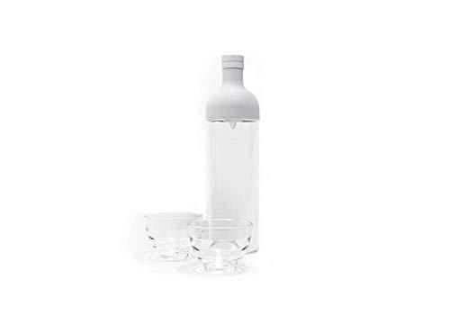 Hario FIHU-2012-PGR-EX Teekanne, Glas, grau