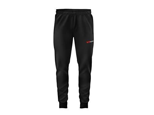 alpas Trainingshose/Jogginghose/Freizeithose Premium für Kinder/Jungen Gr. 110 bis 176 *NEU* Sporthose, Größe: 176, Farbe: Schwarz