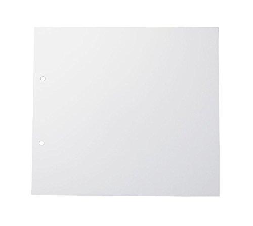 Rössler 13161147000 Nachfüllpackung für Fotoringbuch, 229 x 209 mm, 15 Blatt, weiß
